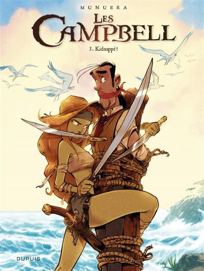 image de Les Campbell tome 3 - kidnappé !