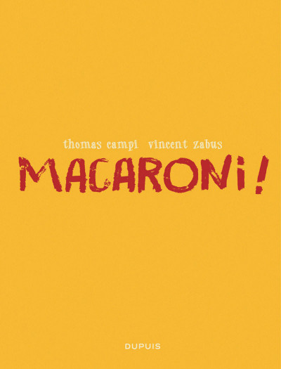 Page 1 Macaroni !
