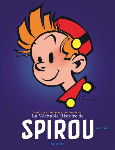 Couverture La véritable histoire de Spirou tome 2