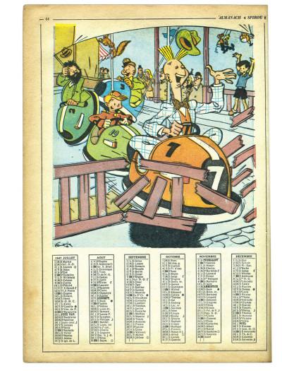 Page 3 La véritable histoire de Spirou tome 2