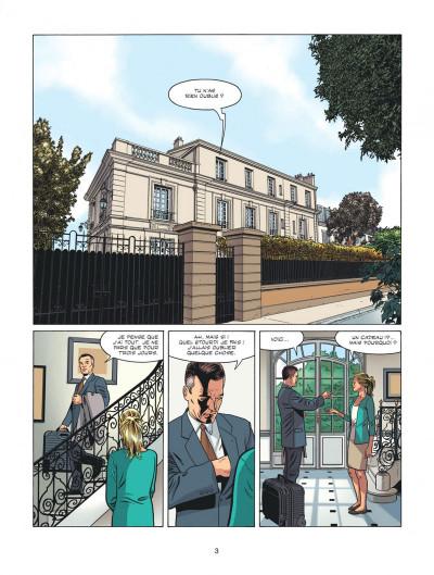 Page 3 Michel Vaillant - nouvelle saison tome 4