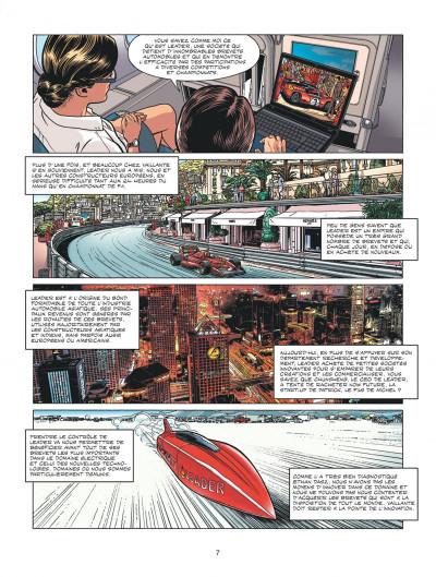 Page 7 Michel Vaillant - nouvelle saison tome 4