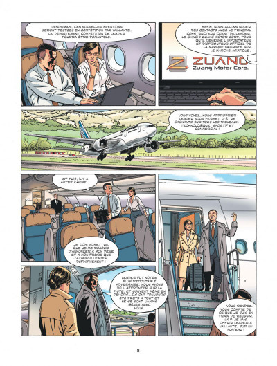 Page 8 Michel Vaillant - nouvelle saison tome 4
