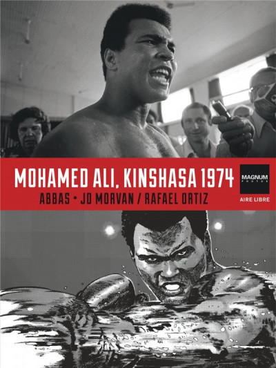 Couverture Magnum photos tome 4 - Mohamed Ali, Kinshasa 1974