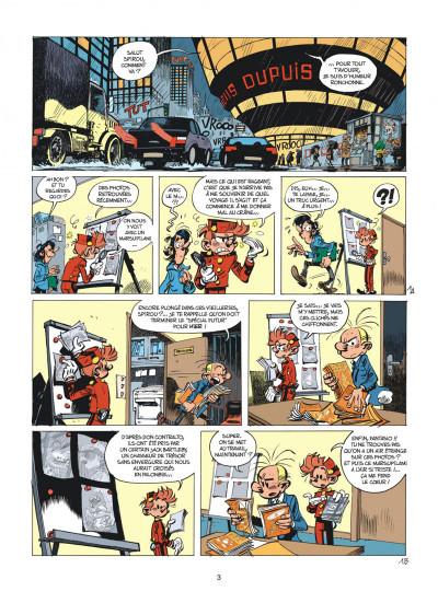 Page 3 Spirou et Fantasio tome 55 - La colère du Marsupilami + ex-libris offert