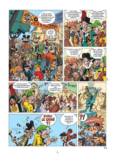 Page 5 Spirou et Fantasio tome 55 - La colère du Marsupilami + ex-libris offert
