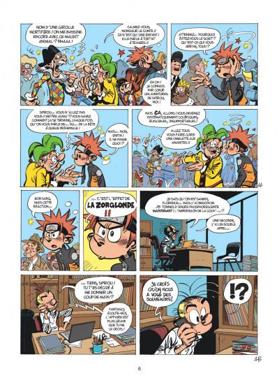 Page 6 Spirou et Fantasio tome 55 - La colère du Marsupilami + ex-libris offert