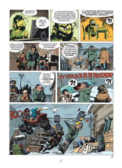 Page 8 Spirou et Fantasio tome 55 - La colère du Marsupilami + ex-libris offert