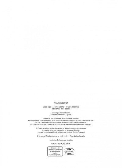 Page 2 Les Minions tome 2
