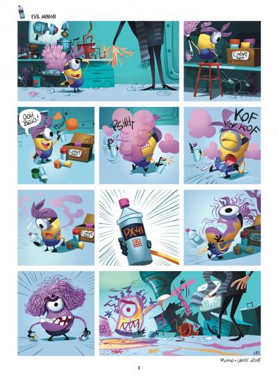 Page 3 Les Minions tome 2