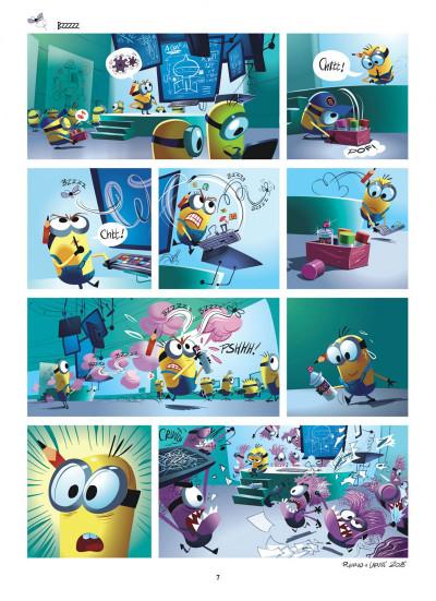 Page 7 Les Minions tome 2