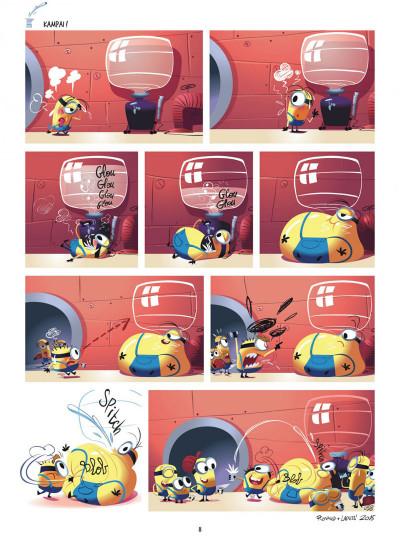 Page 8 Les Minions tome 2
