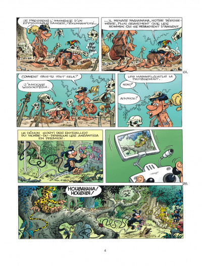 Page 4 Marsupilami tome 29