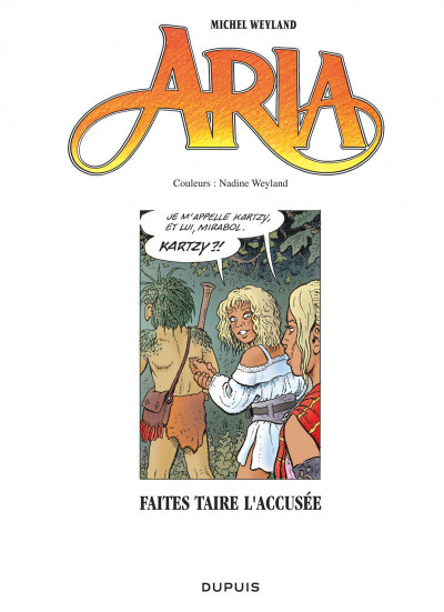 Page 1 Aria tome 37
