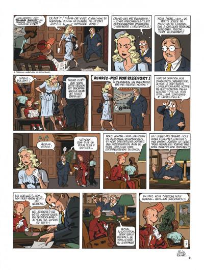 Page 9 Spirou et Fantasio vu par... tome 11 - La femme léopard 2/2