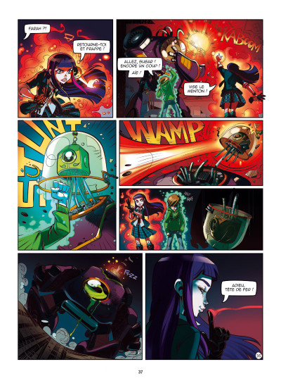 Page 3 Magic 7 tome 1