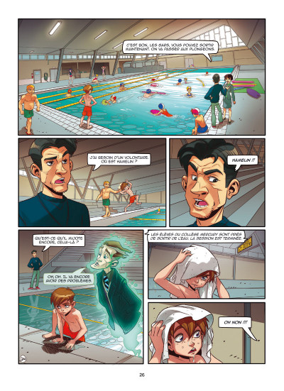 Page 2 Magic 7 tome 1
