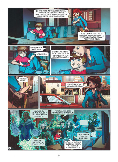 Page 4 Magic 7 tome 1