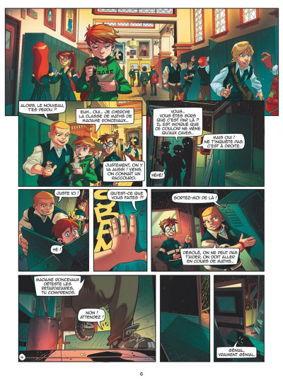 Page 6 Magic 7 tome 1