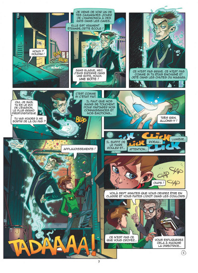 Page 7 Magic 7 tome 1