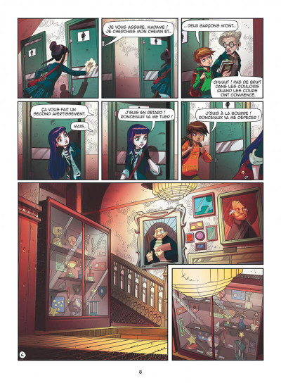 Page 8 Magic 7 tome 1