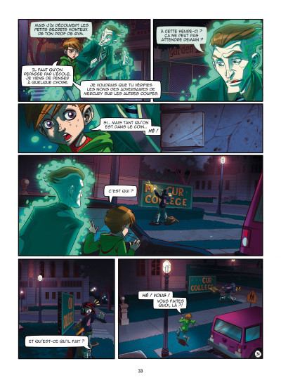 Page 9 Magic 7 tome 1