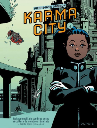 Couverture Karma City tome 1