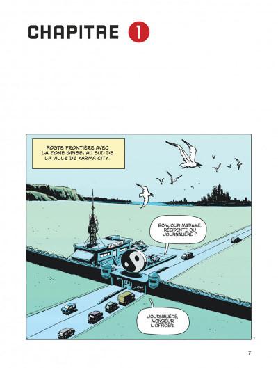 Page 7 Karma City tome 1