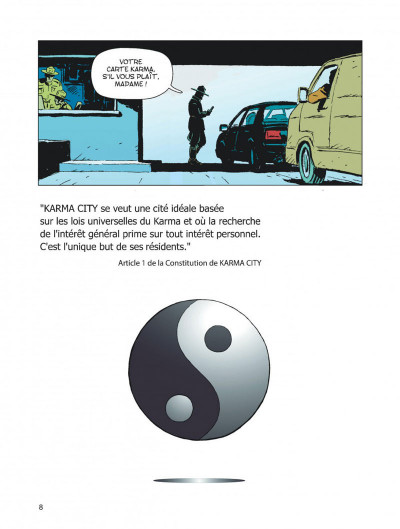 Page 8 Karma City tome 1