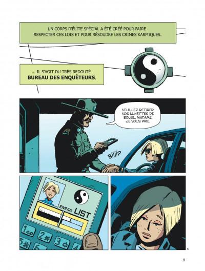 Page 9 Karma City tome 1