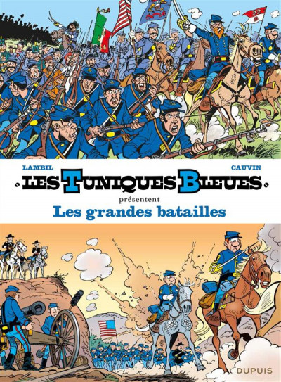 Couverture Les tuniques bleues présentent tome 1