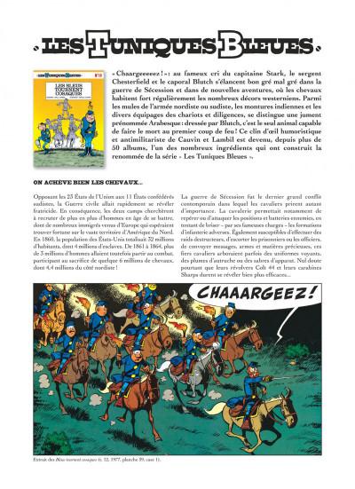 Page 4 Les tuniques bleues présentent tome 2 - les chevaux dans l'armée