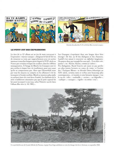 Page 6 Les tuniques bleues présentent tome 2 - les chevaux dans l'armée