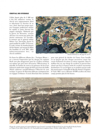 Page 7 Les tuniques bleues présentent tome 2 - les chevaux dans l'armée