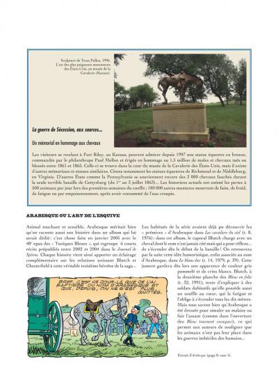 Page 8 Les tuniques bleues présentent tome 2 - les chevaux dans l'armée