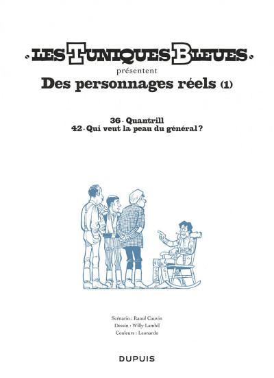 Page 1 Les tuniques bleues présentent tome 3