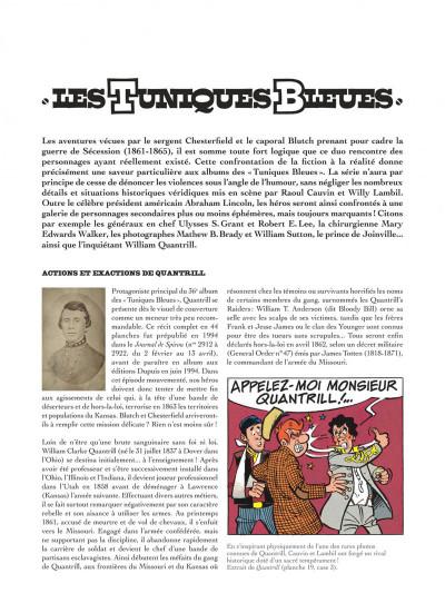 Page 4 Les tuniques bleues présentent tome 3