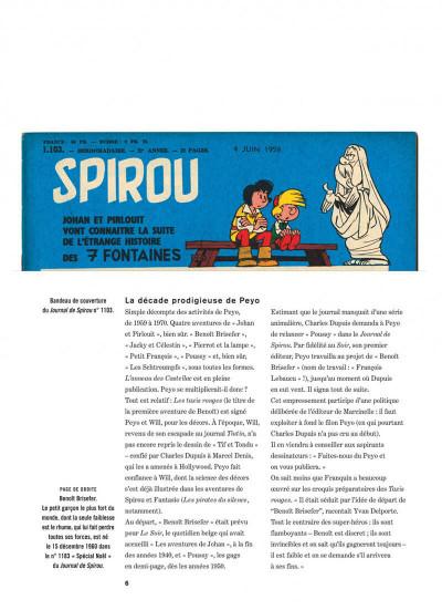 Page 6 Johan et Pirlouit intégrale tome 4