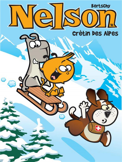 Couverture Nelson tome 18