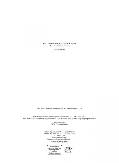 Page 2 Jérôme K. Jérôme Bloche tome 25 - Aïna
