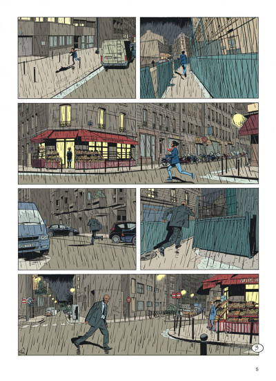 Page 5 Jérôme K. Jérôme Bloche tome 25 - Aïna