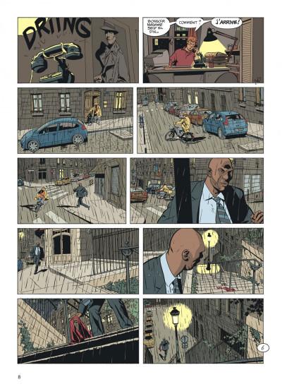 Page 8 Jérôme K. Jérôme Bloche tome 25 - Aïna