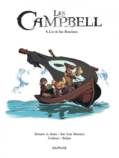 Page 1 Les Campbell tome 4