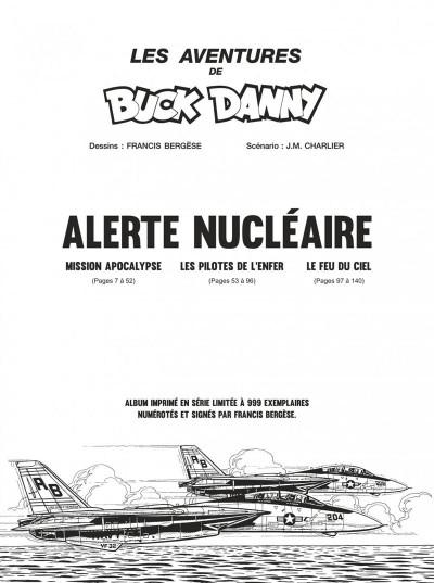 Page 5 Buck Danny intégrale - Alerte nucléaire (noir et blanc)