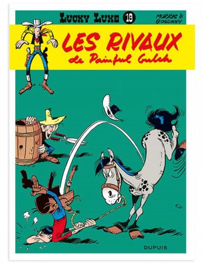 Couverture Lucky Luke tome 19 - Lire en short