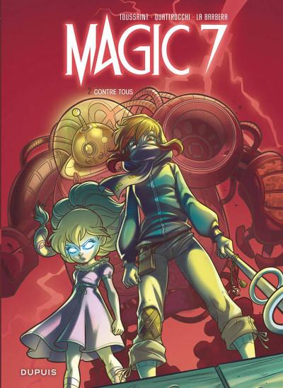 Couverture Magic 7 tome 2
