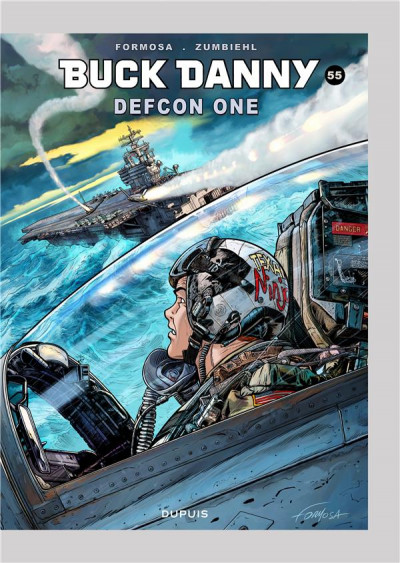 Couverture Buck Danny tome 55