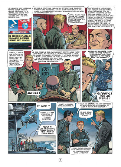 Page 4 Buck Danny tome 55