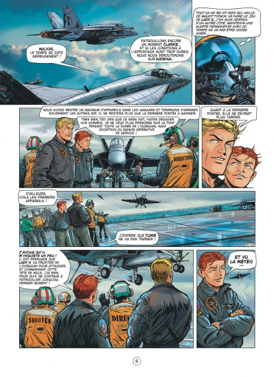 Page 6 Buck Danny tome 55