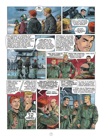 Page 7 Buck Danny tome 55